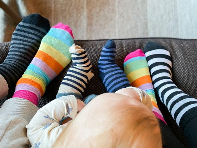 Suomalaiset sukat rokkaa