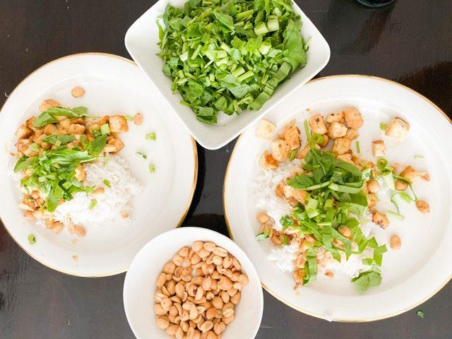 Arkiruokareseptejä koko perheelle – Järjettömän helppo ja hyvä tofu satay